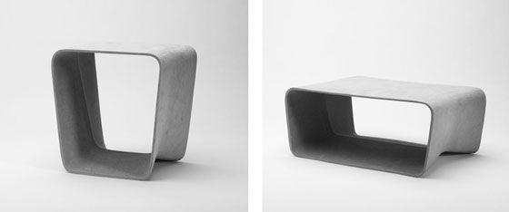 14 besten wohnung Bilder auf Pinterest Betonmöbel, Schaukelstühle - designer betonmoebel innen aussen