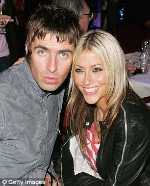 Liam with ex-wife Nicole Appleton in happier times