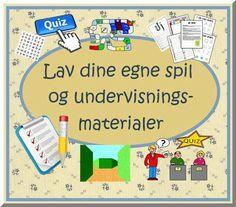 Skolestuen: Lav dine egne spil og undervisningsmaterialer med gratis onlineværktøjer og programmer
