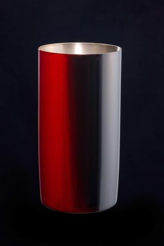 Titanium Japanese Lacquer Tumbler by Rhus  (Firelight) featured on Jzool.com