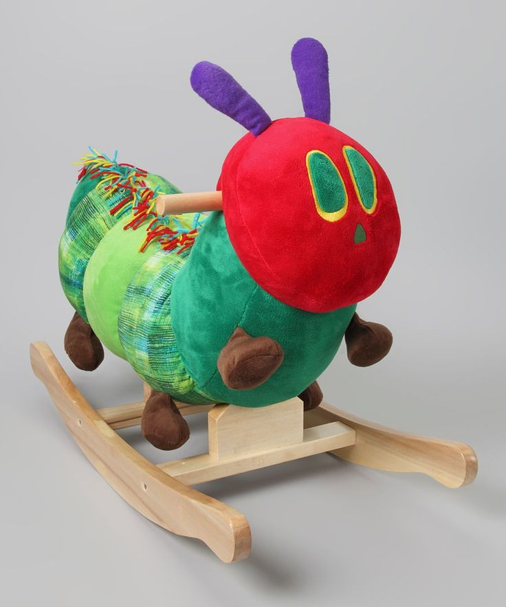 The Very Hungry Caterpillar Rocker #Rocker #Babies #The_Very_Hungry_Caterpillar #Eric_Carle