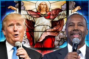 These religious clowns should scare you: GOP candidates' gullible, lunatic faith is a massive character flaw