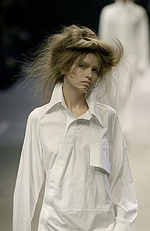 (via Fashion shirt - photo » Best shirt) Yohji Yamamoto