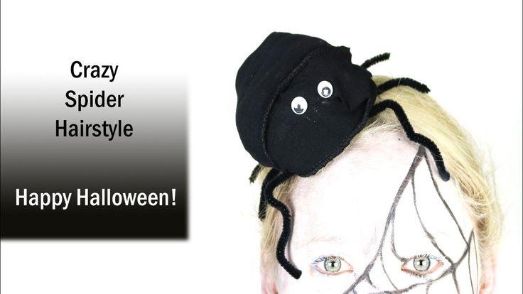 Spinnen Kapsel | Halloween Tutorial | Crazy Spider Hair | Dazzling Beauty  Bekijk de gehele spinnen look op mijn blog  http://www.dazzling-beauty.nl/make-up/looks/spinnen-make-up-en-kapsel-halloween-tutorial