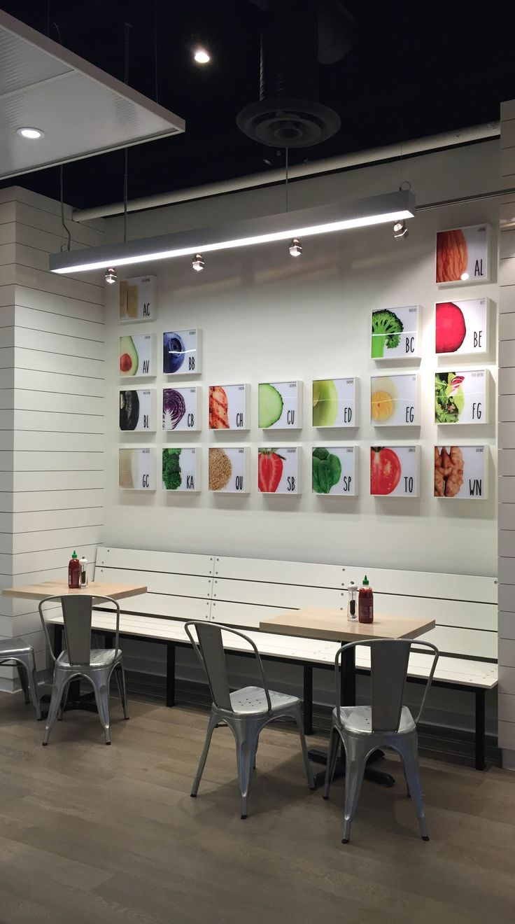 Best images about freshii restaurant store design on