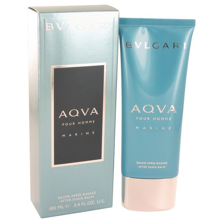 New #Fragrance #Perfume #Scent on #Sale  Bvlgari Aqua Marine by Bvlgari 3.4 oz After Shave Balm - This limited-edition interpretation of Bvlgari's AQVA Pour Homme is distinguished by a new luminous color, inspired by the iridescent reflections of water. It contains Notes of  Mandarin, Petit Grain, Santolina, Posidonia, Mineral Amber. Its fresh, elegant and Masculine.. Buy now at http://www.yourhotperfume.com/bvlgari-aqua-marine-by-bvlgari-3-4-oz-after-shave-balm.html