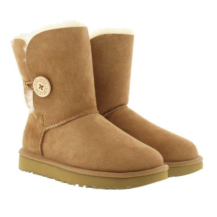 UGG UGG Boots & Booties – W Bailey Button II Chestnut – in cognac – Boots & Booties für Damen