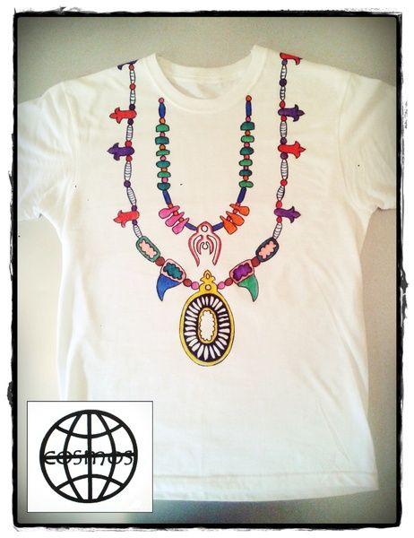 collana tribale di CosmosTshirt su DaWanda.com