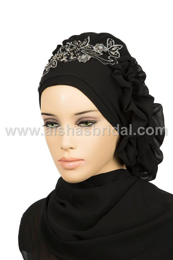 Ready To Wear Hijab Code: HT-0130 muslim women by HAZIRTURBAN