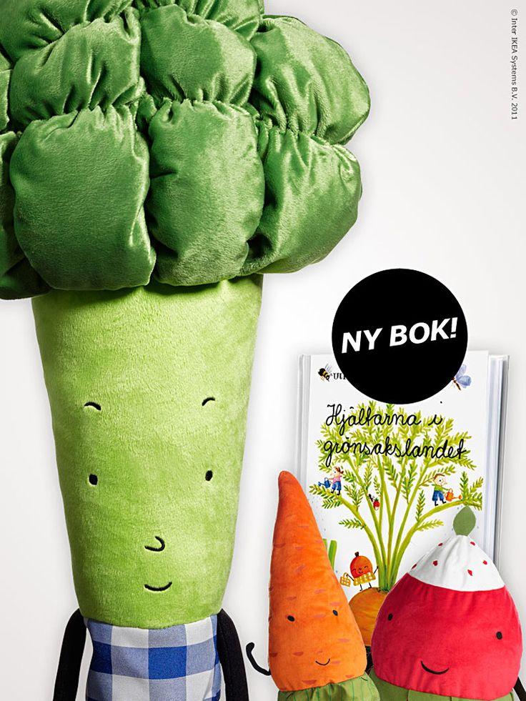 Morot, broccoli eller smultron? Bli kompis med hjältarna i grönsakslandet! Barn lär sig genom att leka och på tema odling och hållbarhet kommer nu den lekfulla serien TORVA.
