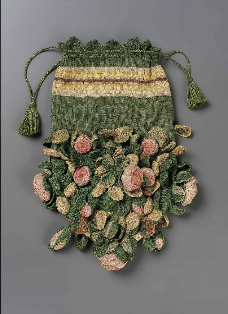 Lady's Bag, circa late 18th century
