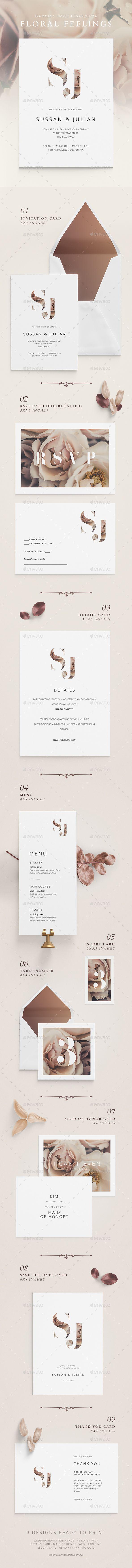 Best Wedding Invitation Template Design Images On Pinterest