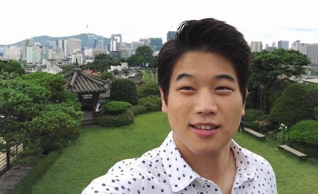 Ki Hong Lee in the July 2016 selfie showing scenic beauty of Korea...