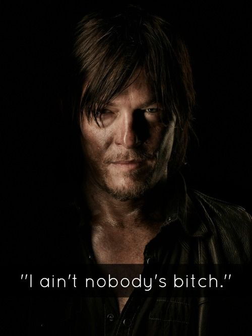 The Walking Dead // Daryl  http://www.amctv.com/shows/the-walking-dead#  Sundays 9 pm (ch 67) Oct 12