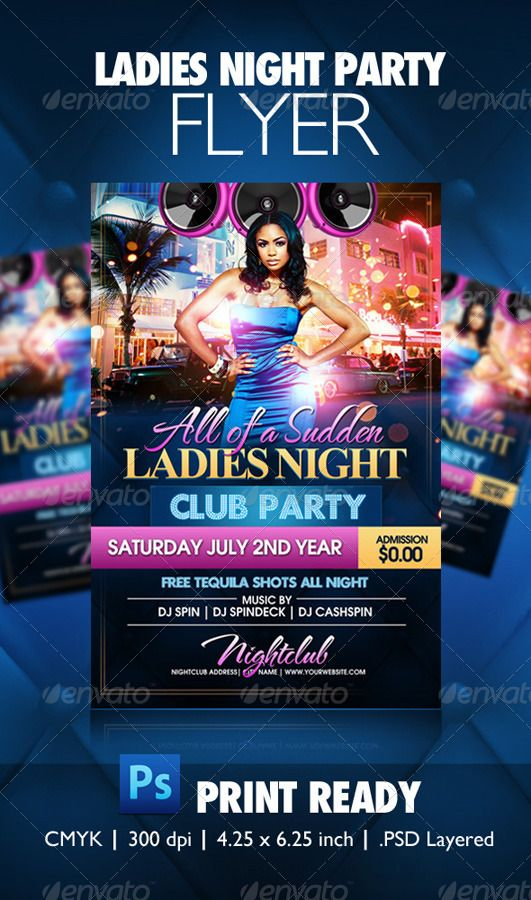 234 best Night Party Flyer Templates images on Pinterest | Flyer ...