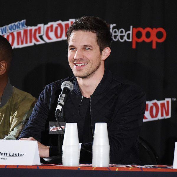 "Matt Lanter Photos Photos - Actor Matt Lanter attends NBCs ""Timeless "" Screening & Panel during the 2016 New York Comic Con - Day 4 at on October 9, 2016 in New York City. - 2016 New York Comic Con - Day 4"