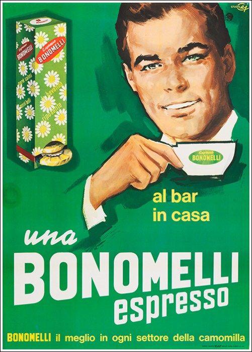 Al bar, in casa, una Bonomelli espresso - 1963 -