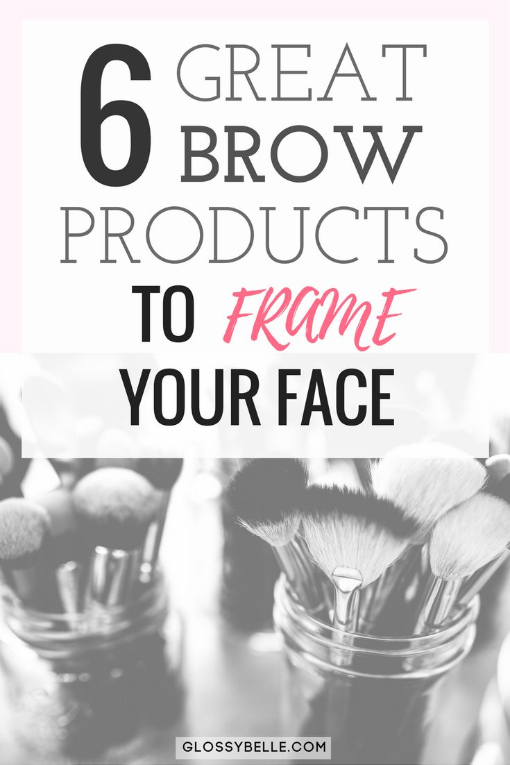 Eyebrows can make or break your face so it's important to choose the right products. Learn about the different types of brow products and 6 of my favorite pencil and powder brow products to help frame your face in this post.