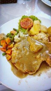 Chicken Steak with Mushroom Sauce @ Toko Oen, Semarang, Central Java, Indonesia