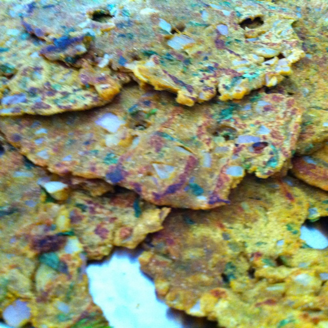 Traditional maharashtrian food: Thaalipeeth (30.06.12)