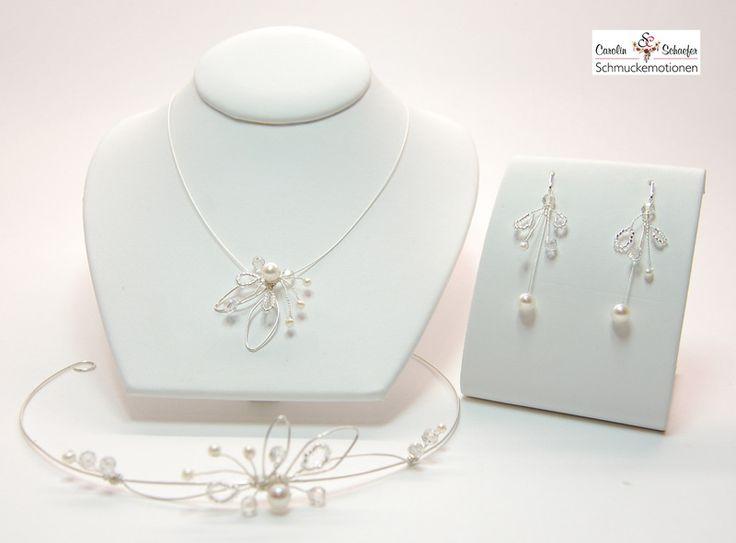 Brautschmuck perlen ivory  Die besten 25+ Brautschmuck set Ideen nur auf Pinterest ...