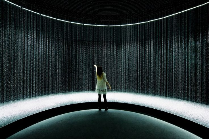 light in water by DGT architects on display at éléphant paname