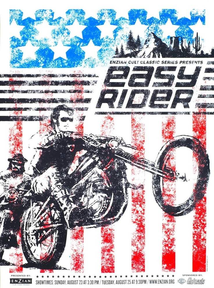 Easy Rider Film Poster