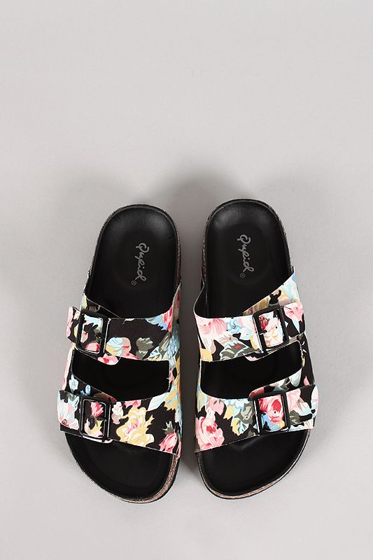 floral buckle sandals. These are pretty perfect especially for under $20!