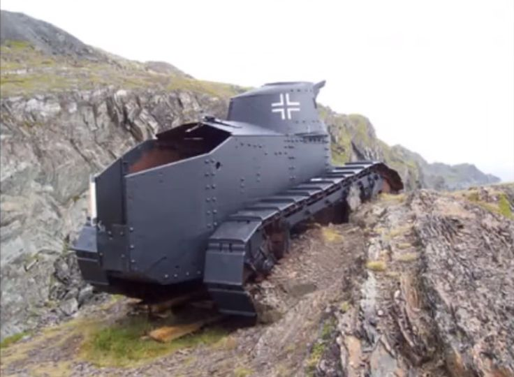Incredible! FT-17 Tank Relic's in Norway from WWII!