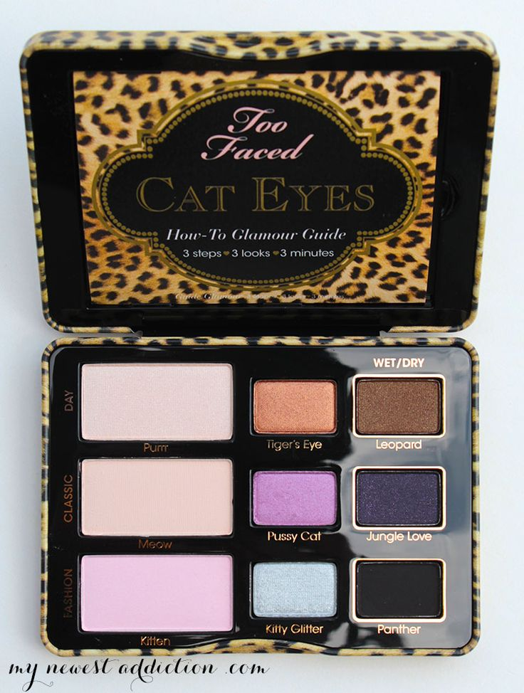 too faced cat eyes open palette