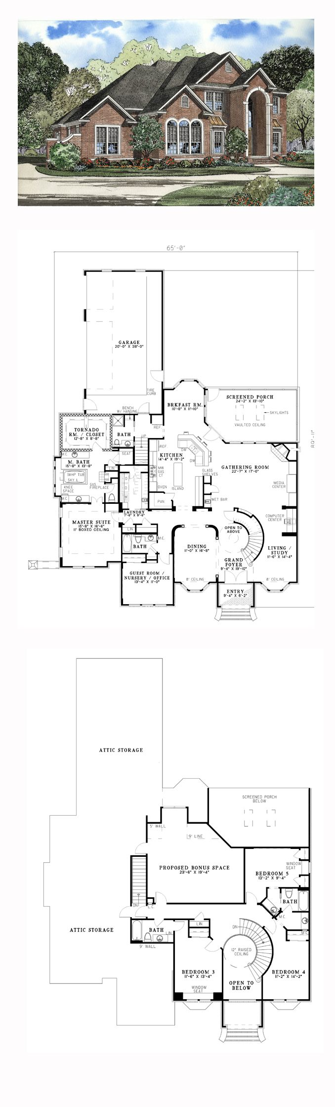 Luxury COOL House Plan ID chp 19697