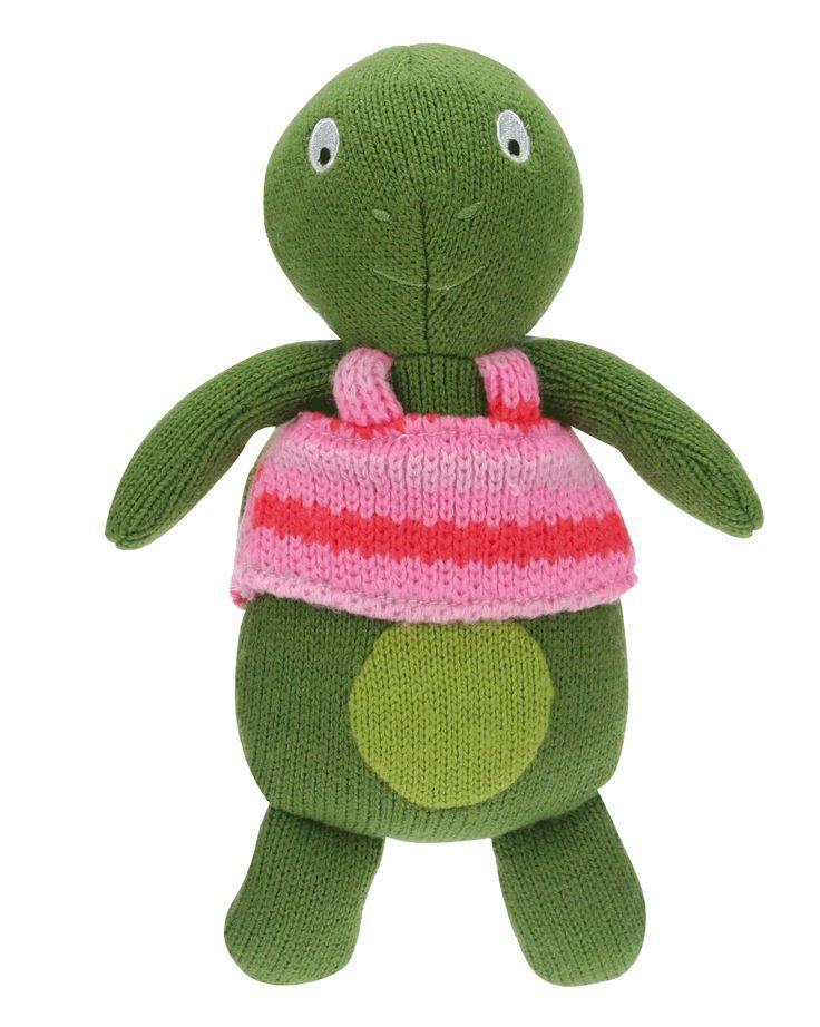 Manon la tortue des personnages de la Wooly Family par Latitude Enfant. Jouet ludique. Doudou d'éveil. Produit de puériculture.