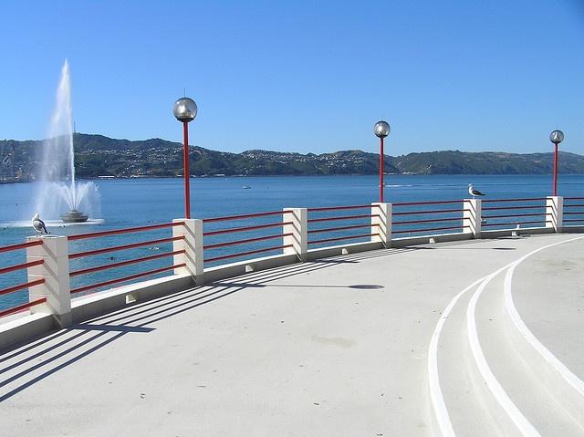 Band Rotunda, Oriental Bay, Wellington, New Zealand