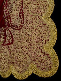 Jacket Athens, Greece 1830-1879 Silk velvet, embroidered with metal thread