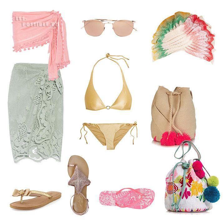 Пляжные наряды по системе Кибби для всех типажей. Beach outfits for all KIBBE TYPES.