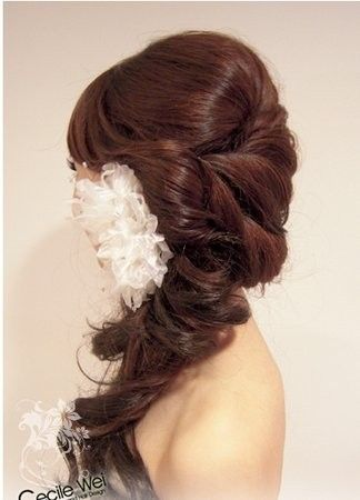 Formal hair style ideas. This tumblr user has  a pretty good collection of photos.Casual Wedding, Hair Ideas, Holiday Hair, Hairstyles, Bridesmaid Hair, Prom Hair, Wedding Hairs, Wedding Hair Style, Flower