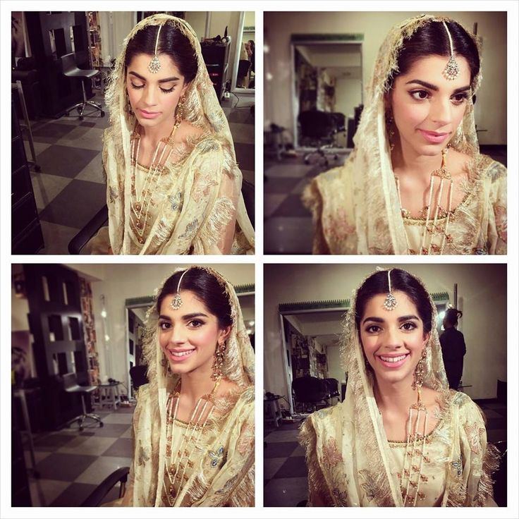 Sanam Saeed officially married! She went the old school route on her big day and kept it simple. Congratulations and best wishes. Makeup done by Anam Farooq Khan.