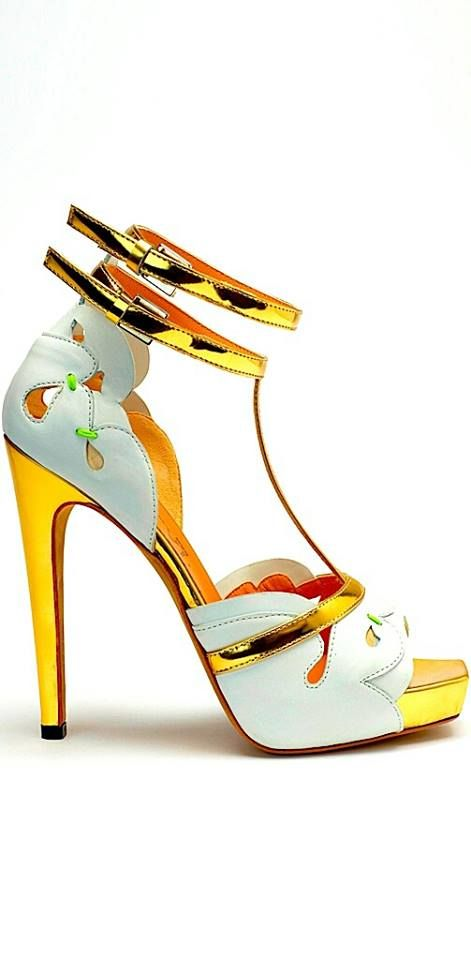Yellow #gold #heels