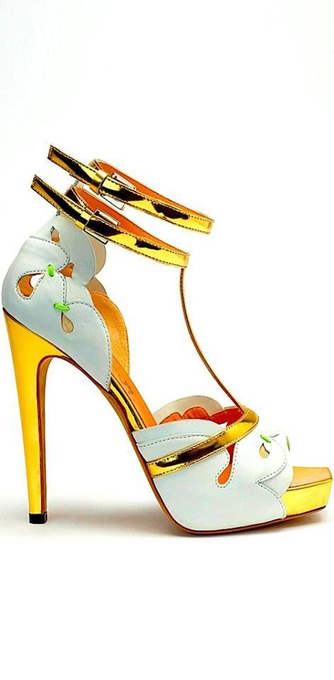 Yellow #gold #heels