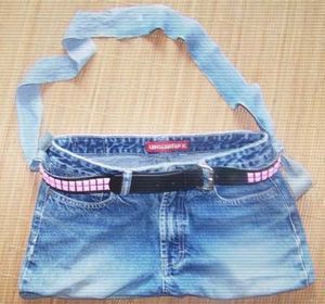 Make a Purse from a Pair of Jeans