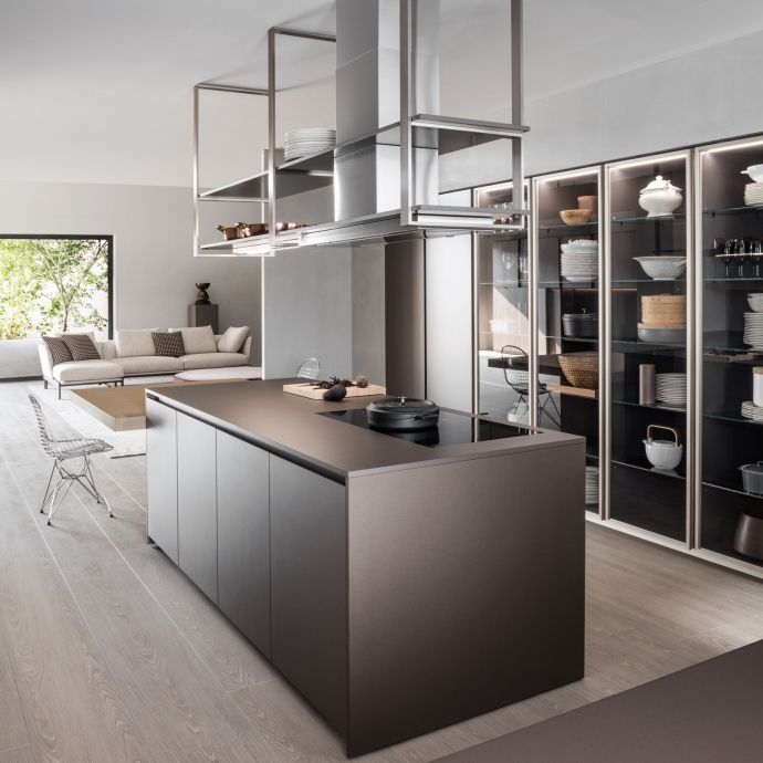 Dada hi line 6 kitchen designed by ferruccio laviani a for Kitchen design 10 5 full patch
