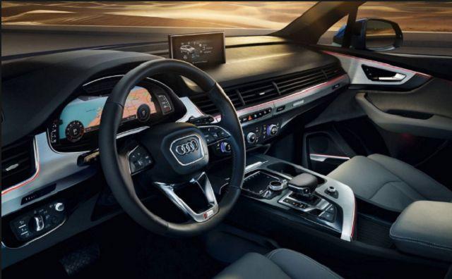 2018 Audi Q7 RS New Interior Style Design