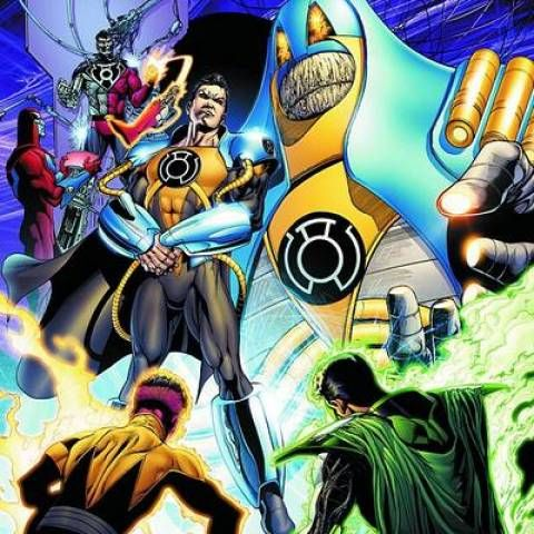 When the 52 universes that form the Multiverse were reborn following the Second Crisis, the Anti-Monitor was as well, and he became the Sinestro Corps' sole Guardian. He recruited Superboy-Prime, Cyborg-Superman and Parallax to become his Heralds alongside Sinestro