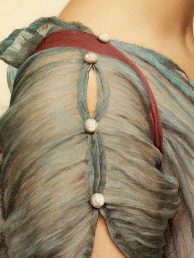 p-dress: John William Godward • (Wimbledon 1861 – London 1922) - Century Paintings 19th - 20th
