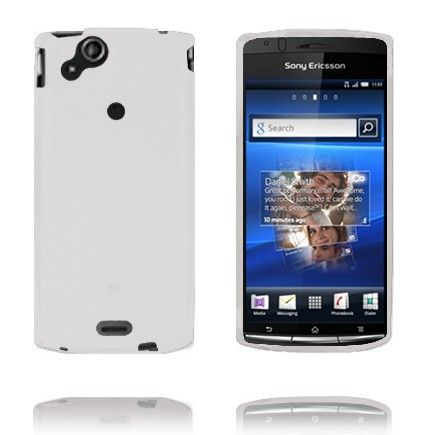 Soft Shell (Hvid) Sony Ericsson Xperia Arc Cover
