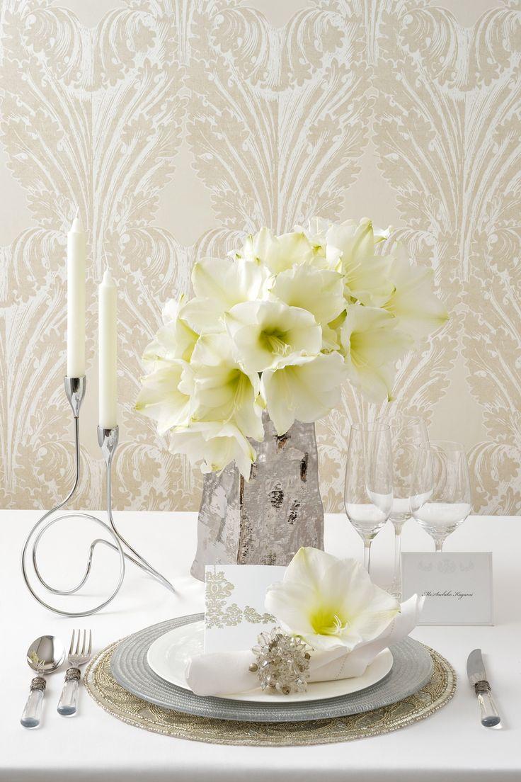 #wedding #slivert #flower #white #crystal #NOVARESE #ウエディング #シルバー #クリスタル #フラワー #ノバレーゼ