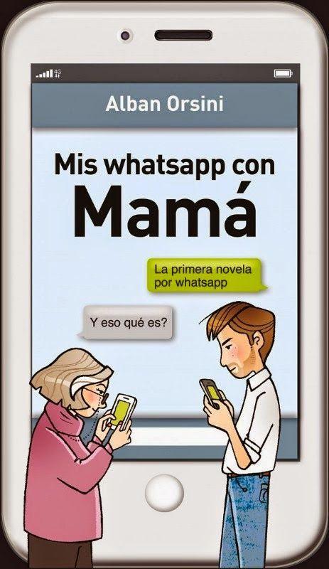 Mis Whatsapp con Mamá  #díadelamadre http://cuchurutu.blogspot.com.es/2014/04/30-regalos-para-el-dia-de-la-madre.html