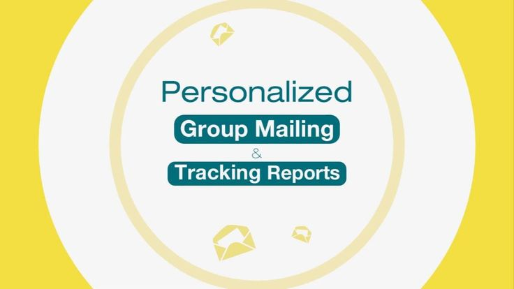 How to send personalized group mail & track reports with XgenPlus