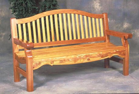 ideas about Garden Bench Plans on Pinterest Wooden