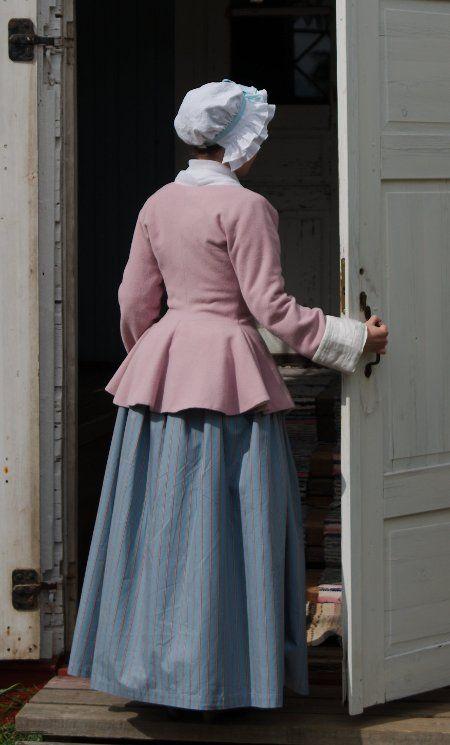 mauve jacket 18th century